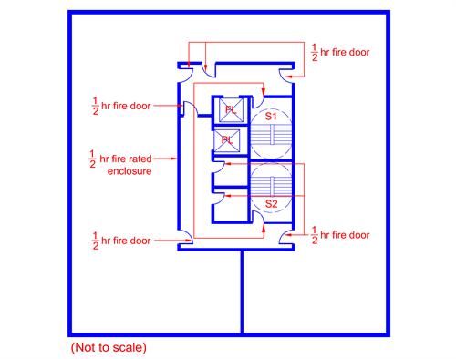Alert Residential Steel Fire Doors With Glass Vision Furniture 60 Minutes Fire Rated Door Steel Fire Door With Panic Push Bar And Door Lock