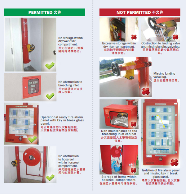 Fire Safety Guidelines for HDB Estates